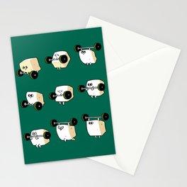 OLYMPIC LIFTING  Tofu Stationery Cards