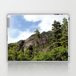 A Trail Leads Up There, to the Upper Cascades --- Rising 1,100 Feet in Less Than a Mile Laptop & iPad Skin