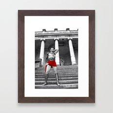 Red of Rome Framed Art Print