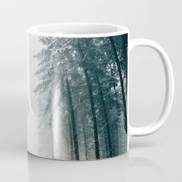 The Winter Trail (Color) Coffee Mug