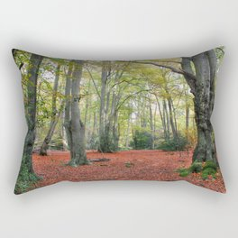 Walking Through Epping Forest Rectangular Pillow