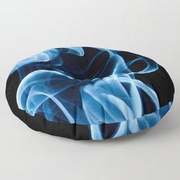 Blue Smoke Floor Pillow