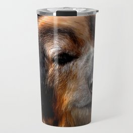 Spectacled bear Travel Mug