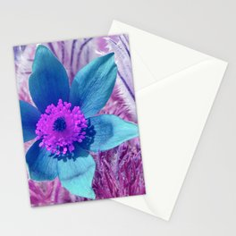 Pasque flowers 176 Stationery Cards