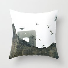 Gone with the wind... Throw Pillow