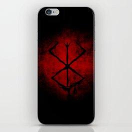 Black Marked Berserk iPhone Skin