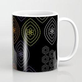 stitches in black Coffee Mug