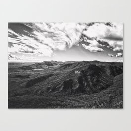 Race Of The Clouds Canvas Print