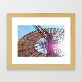 Windmill Flare Framed Art Print
