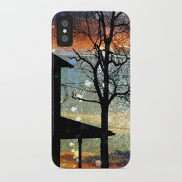 Winter Electric iPhone Case
