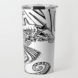 """Ocean Dancer""  Travel Mug"
