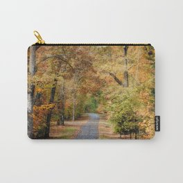 Autumn Passage 2 - Fall Landscape Scene Carry-All Pouch