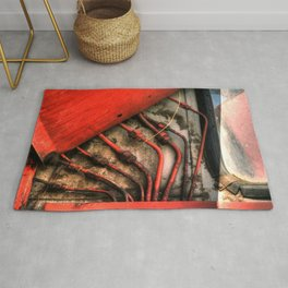 Red Ray of God Rug