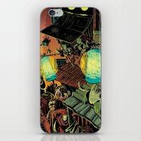 lanterns iPhone & iPod Skins featuring Lanterns by Christine Larsen