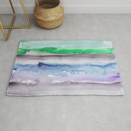 4 | 190907 | Watercolor Abstract Painting Rug