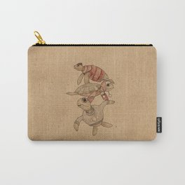 Winter Sea Turtles Carry-All Pouch
