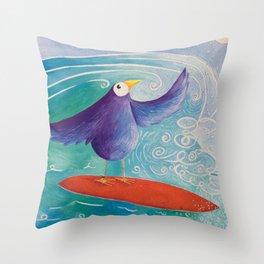 Surfs Up! Throw Pillow