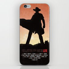 You'll never leave Harlan alive iPhone & iPod Skin