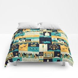 Divergent items Comforters