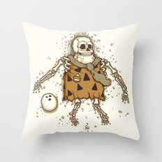 Mysterious fossil Throw Pillow