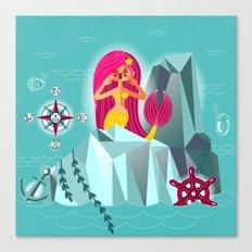 Mermaid's Call Canvas Print
