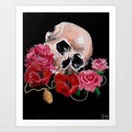 Cherished dead Art Print