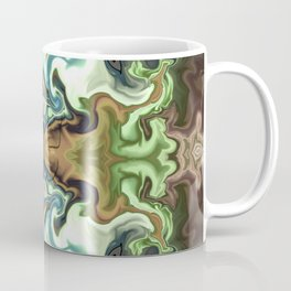 Butterfly art in abstract Coffee Mug