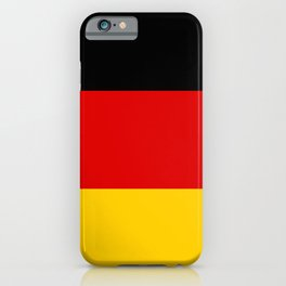 German Flag - Flag of Germany iPhone Case