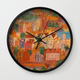 Through Magical Eyes Wall Clock