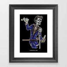 The Hook! Framed Art Print
