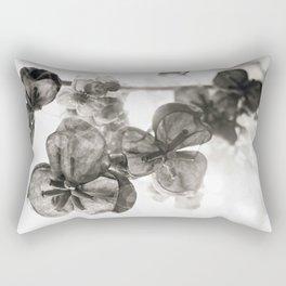 akebia bw Rectangular Pillow