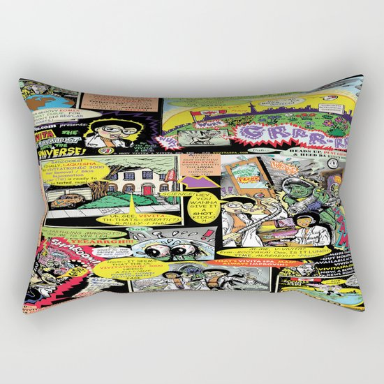 Vivita Spa KOMIX #1 Rectangular Pillow