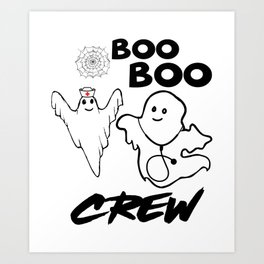 Halloween medics Art Print