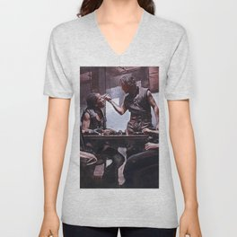 Devil's Night At The Bar - The Crow Unisex V-Neck