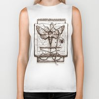science Biker Tanks featuring Science by Ulla Thynell