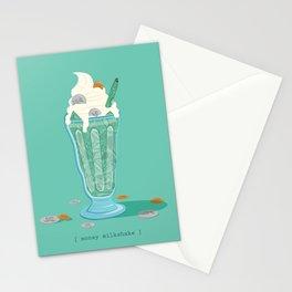 Money Milkshake Stationery Cards