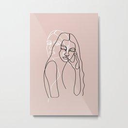 Alma & Wanda Metal Print