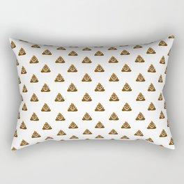 Pile of Poo Emoji Rectangular Pillow