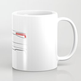 A3 8V 2016 Back White Coffee Mug