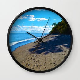Point Pelee National Park Trails in  Leamington, Ontario, Canada Wall Clock