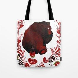 central bear Tote Bag
