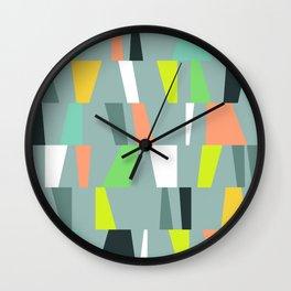 Modern Geometric 41 Wall Clock