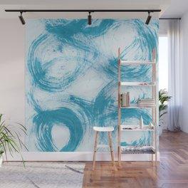 Kleinspir, Abstract, Blue Duck Wall Mural
