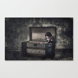 What the Attic Found Canvas Print