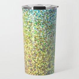 Glitter Rainbow Travel Mug