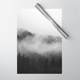 Foggy Forest Wrapping Paper