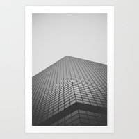 san diego Art Prints featuring San Diego by Luke Gram