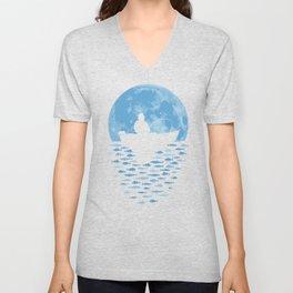 Hooked by Moonlight Unisex V-Neck