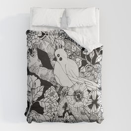 Birdie on a Branch Comforters