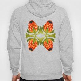 Floral symmetry 1. Hoody